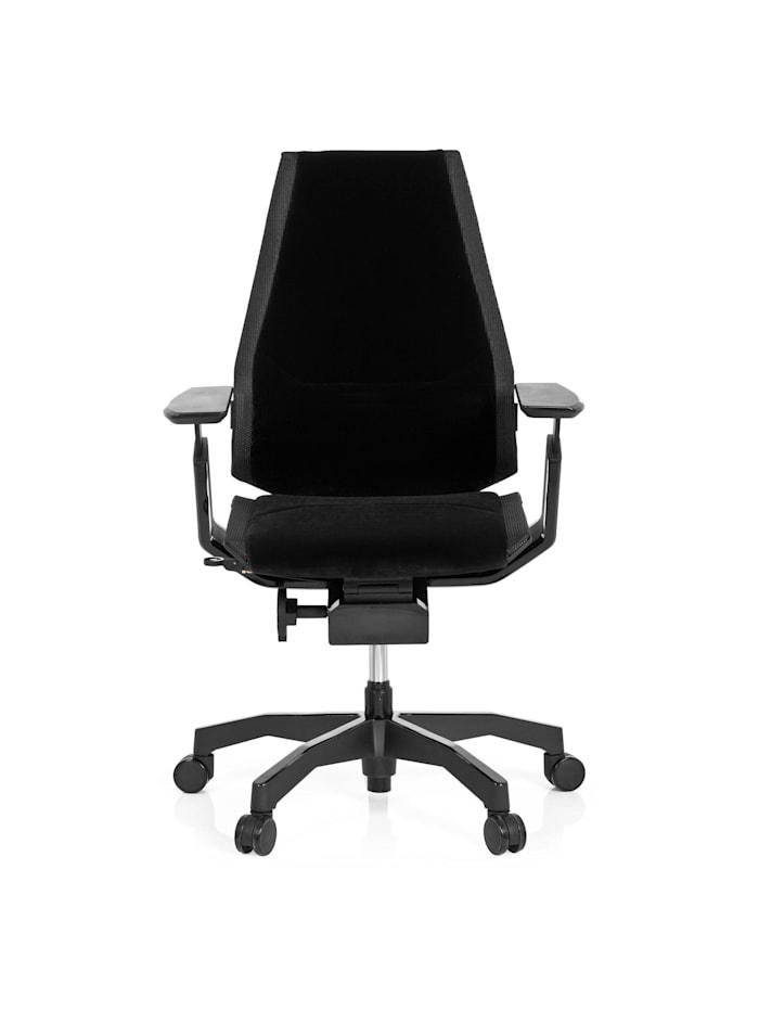 hjh OFFICE High End Bürostuhl GENIDIA BLACK, Schwarz