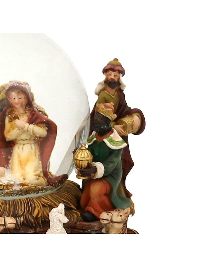 Schneekugel Heilige Familie