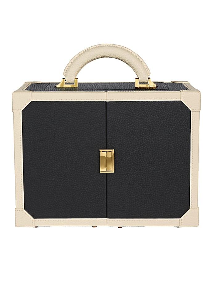 Golden Style Boîte à bijoux, Noir
