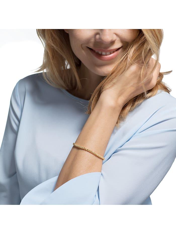 CHRIST Damen-Armband 585er Gelbgold