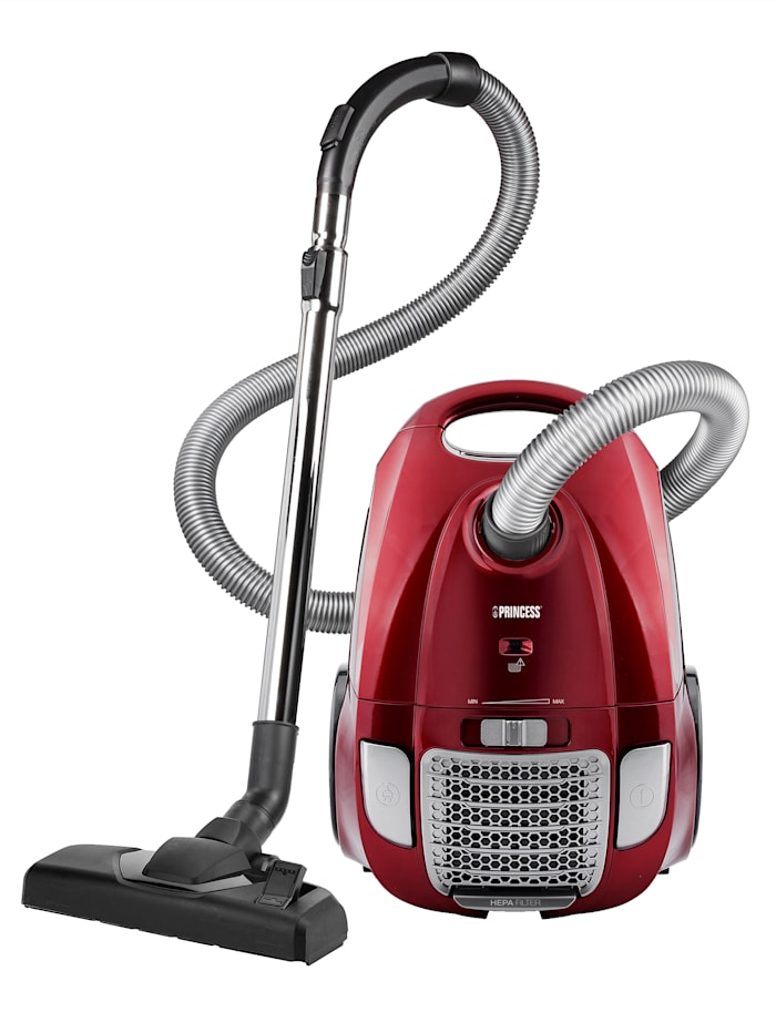 Princess Princess stofzuiger Power Deluxe rood, Rood