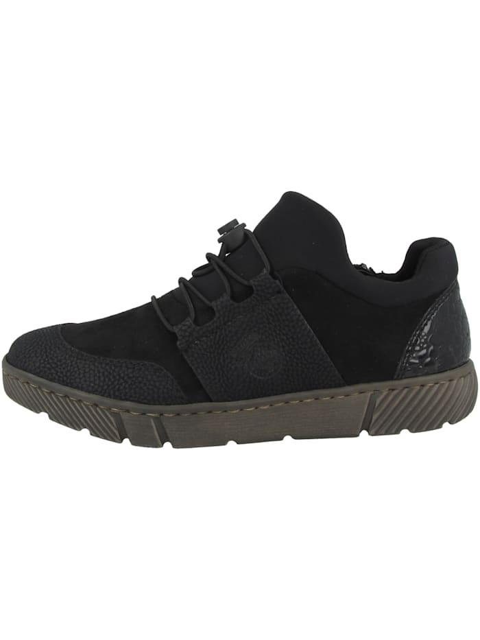 Rieker Sneaker low 52968, schwarz