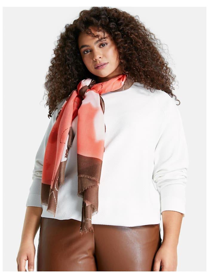 Schal mit Herz-Print