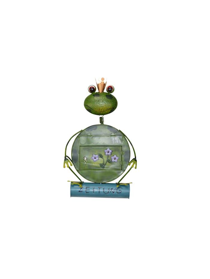 Möbel-Direkt-Online Metallbriefkasten Frosch, grün