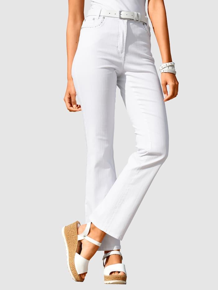 Paola Jeans geeignet für Autofahrer, Weiß