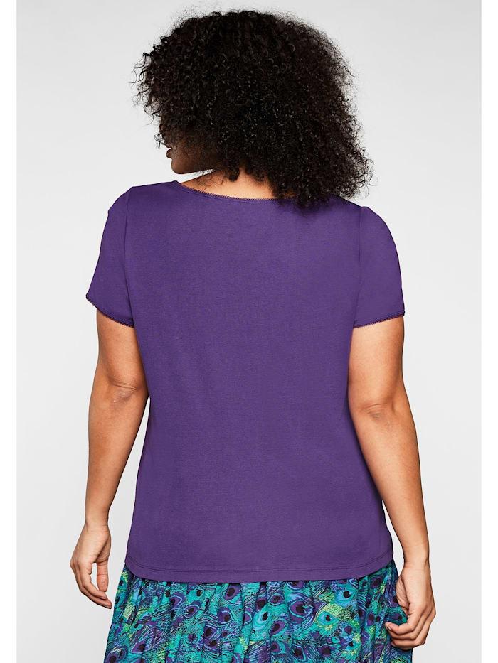 sheego by Joe Browns Shirt mit Knotendetail am Ausschnitt