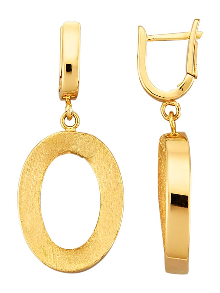Amara Or Boucles d'oreilles en or jaune 585, Coloris or jaune