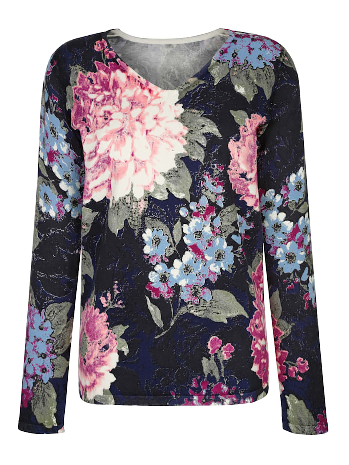 Knit Jumper Beautiful flower print
