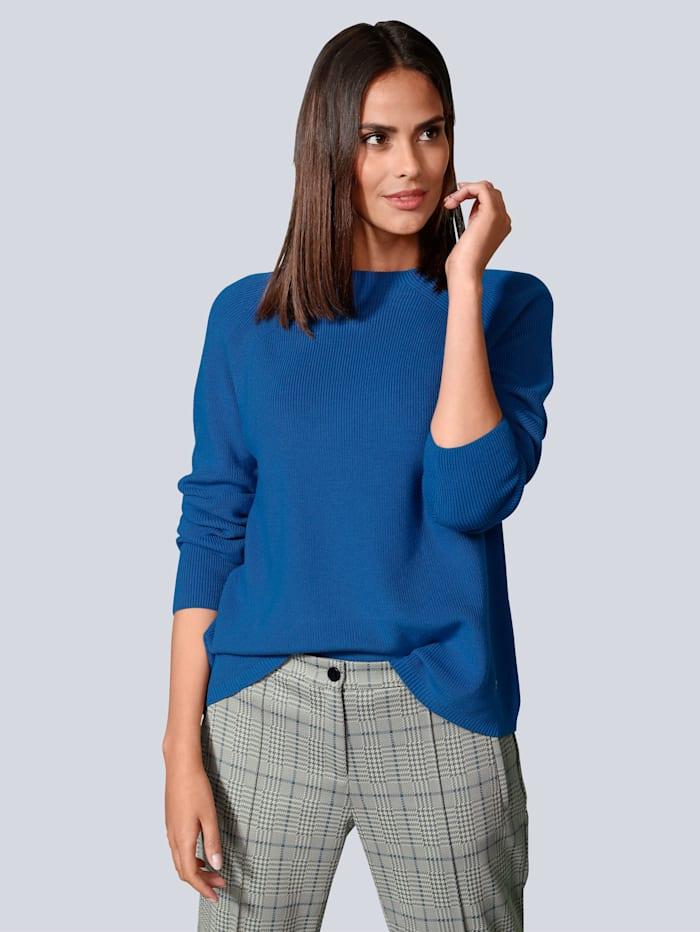 BRAX Pullover in modischer Farbe, Blau