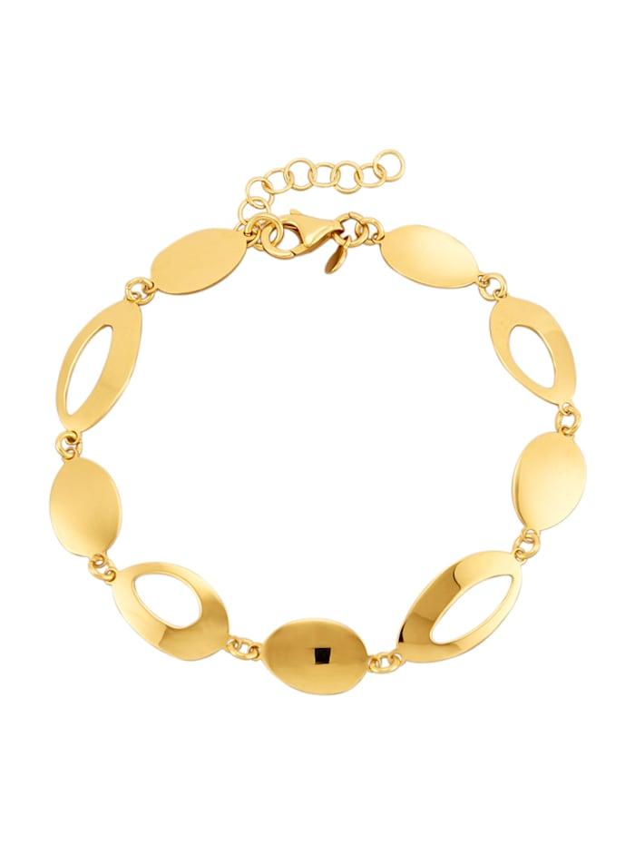 AMY VERMONT Armband van verguld zilver, Geelgoudkleur