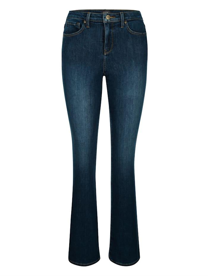 NYDJ Jeans Bootcut model met uitlopende pijpen, Blue stone