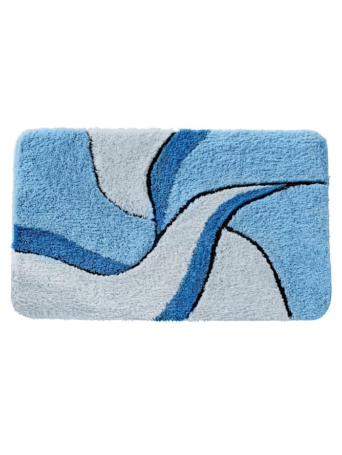 """Webschatz Graafinen kylpyhuoneen matto """"Aberdeen"""", sininen"""