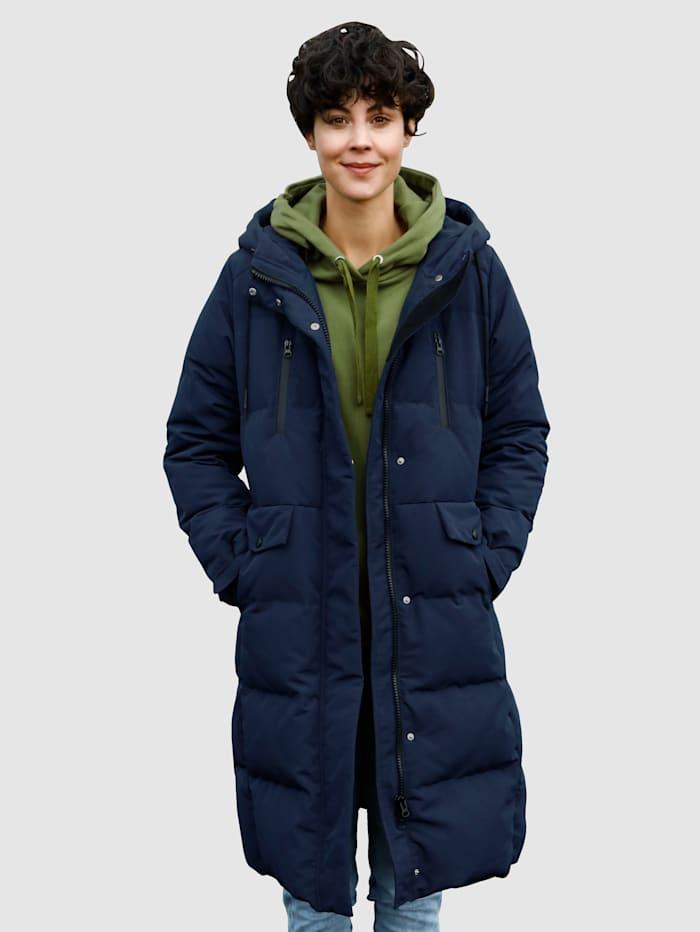 Dress In Prošívaný kabát v moderním střihu, Námořnická