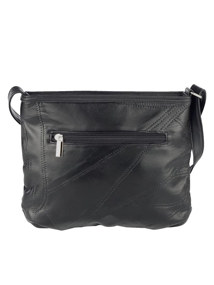 Shoulder Bag Harmonious material mix