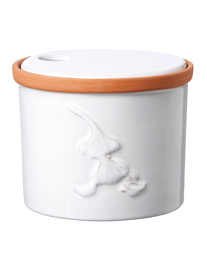 "Ritzenhof & Breker Pot à ail ""Estoril, Blanc"
