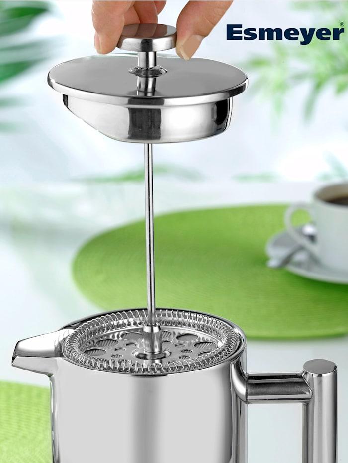 Esmeyer Kaffeebereiter, silberfarben