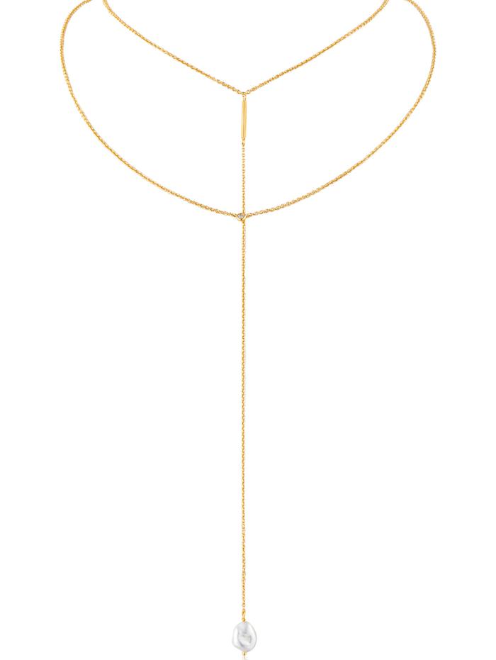 Ania Haie Ania Haie Damen-Kette 925er Silber, gold