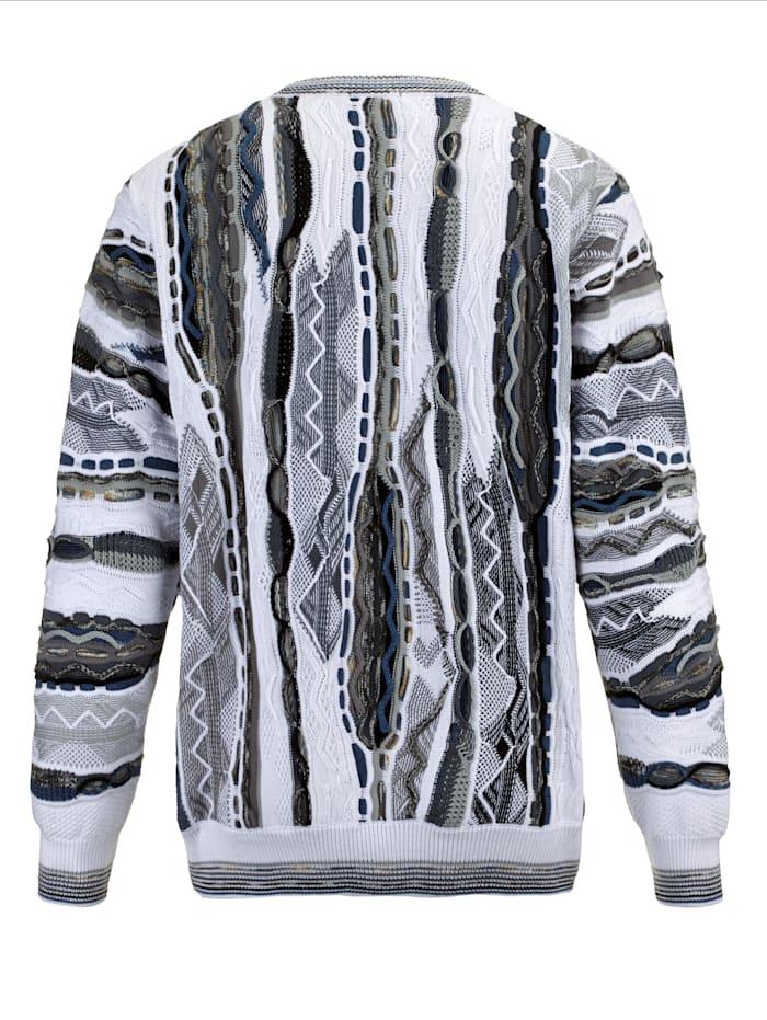 Pullover mit aufwändiger 3D-Struktur