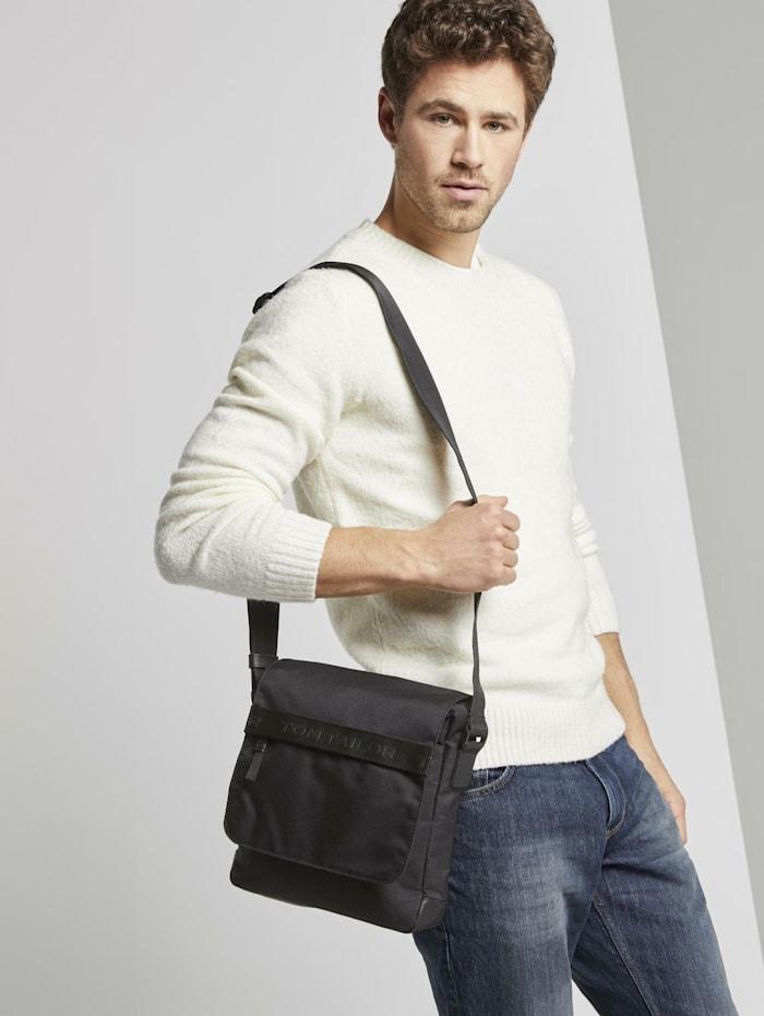 Tom Tailor Überschlagtasche Matteo, schwarz / black