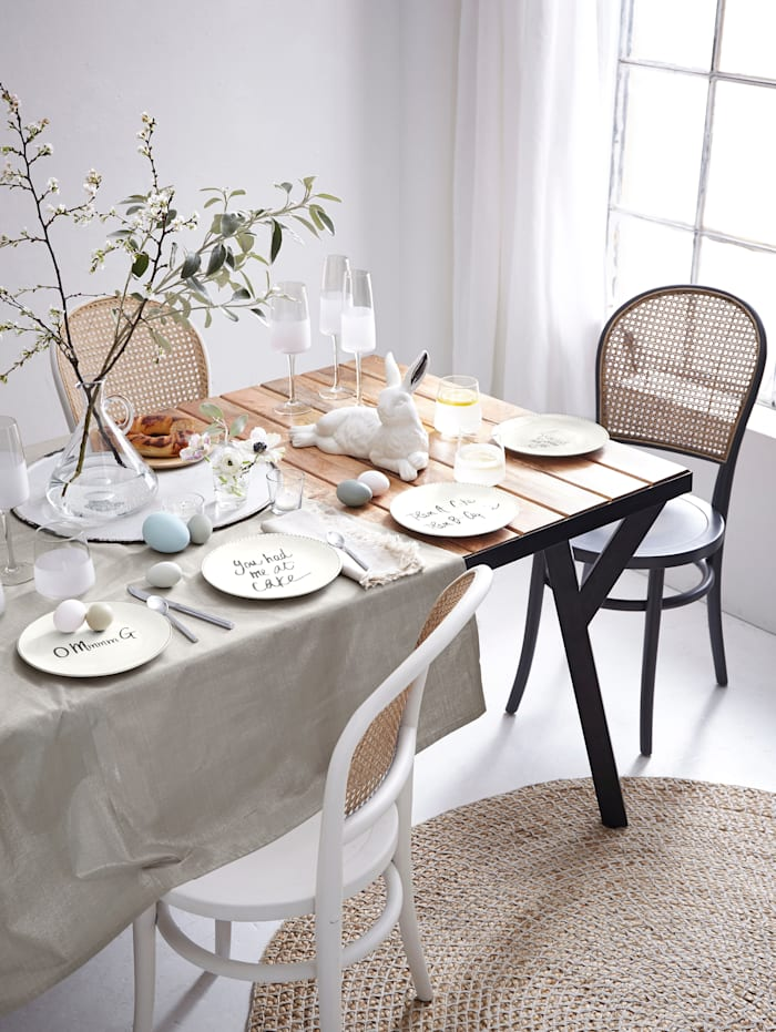 IMPRESSIONEN living Dessertteller-Set, 4-tlg., weiß