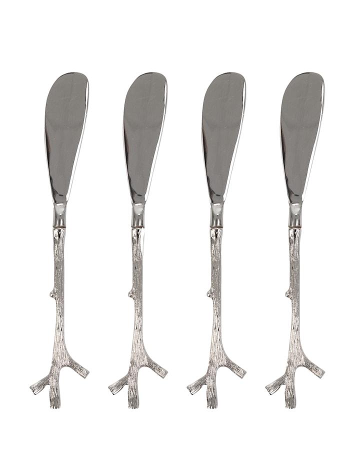 Set de 4 couteaux à beurre