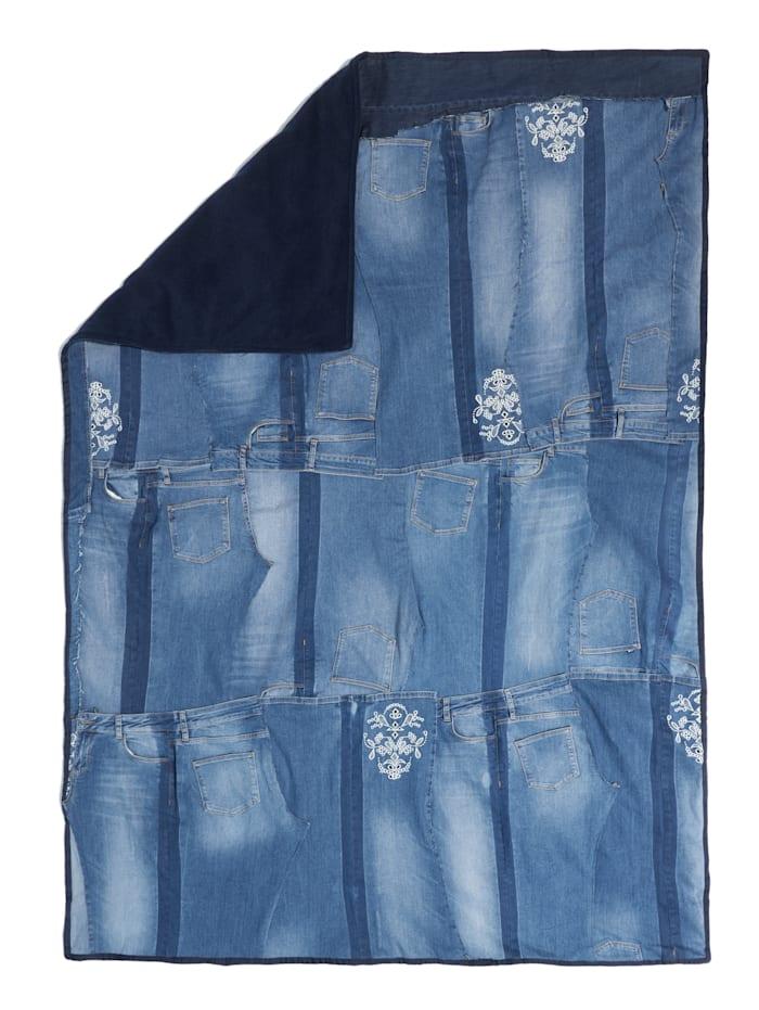MAC Jeans-Decke, Jubiläumskollektion, Jeansblau