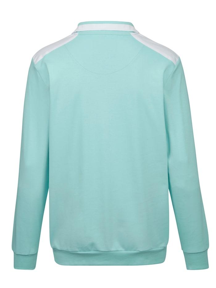 Sweatshirt i fräscha färger