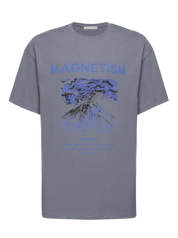 Grimelange T-Shirt MADDOX ., grey