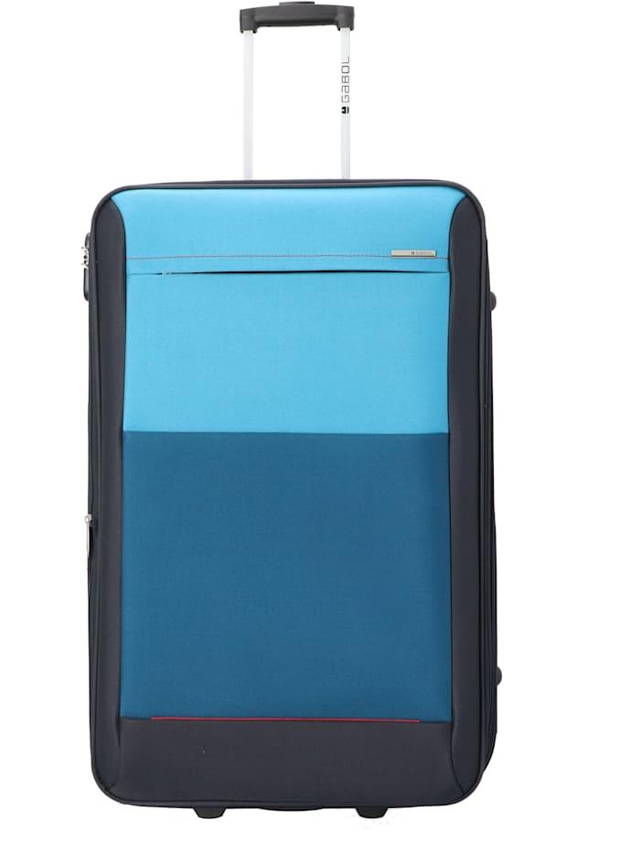 Gabol Reims 2-Rollen Trolley 76 cm, blau