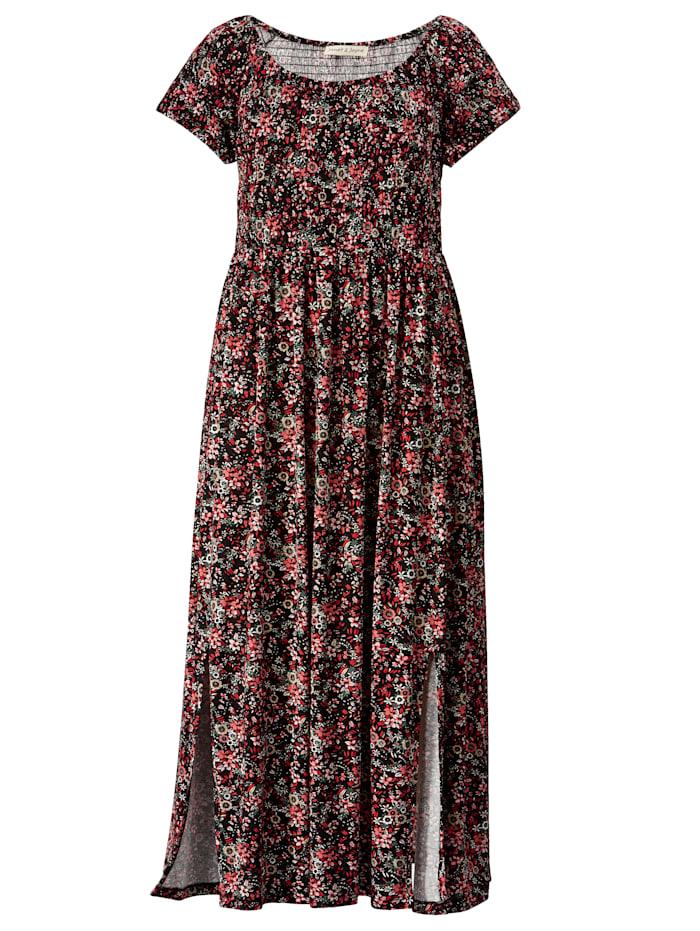 Maxi-jurk met plooitjes