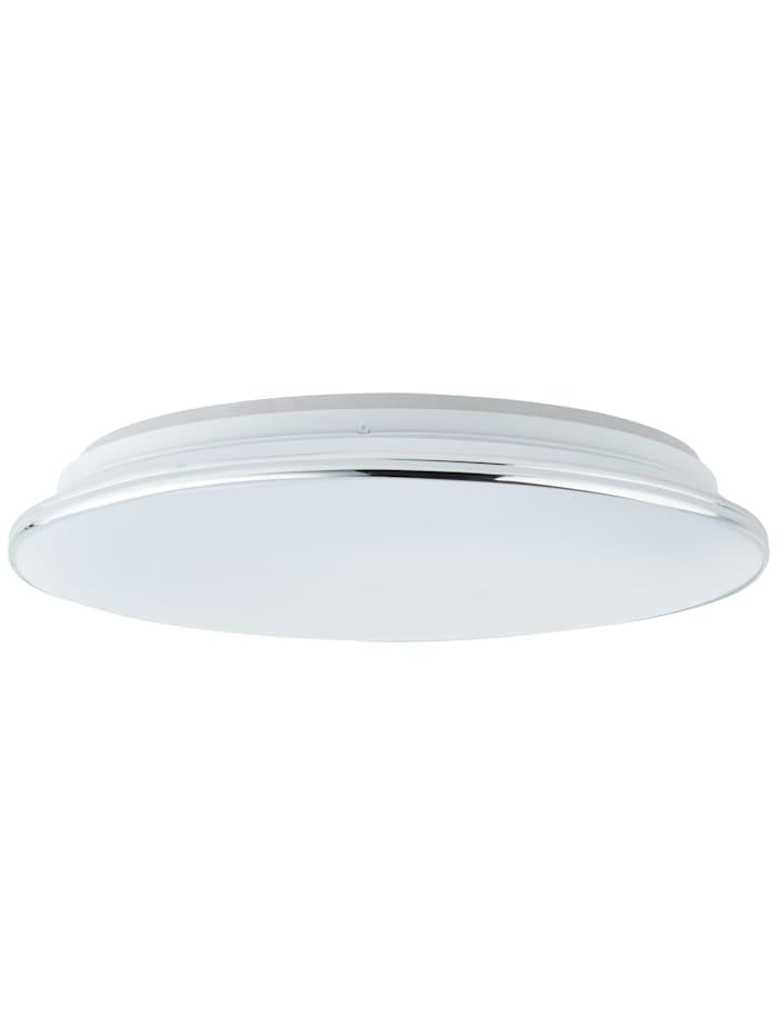 Edna LED Deckenleuchte 40cm weiß/chrom
