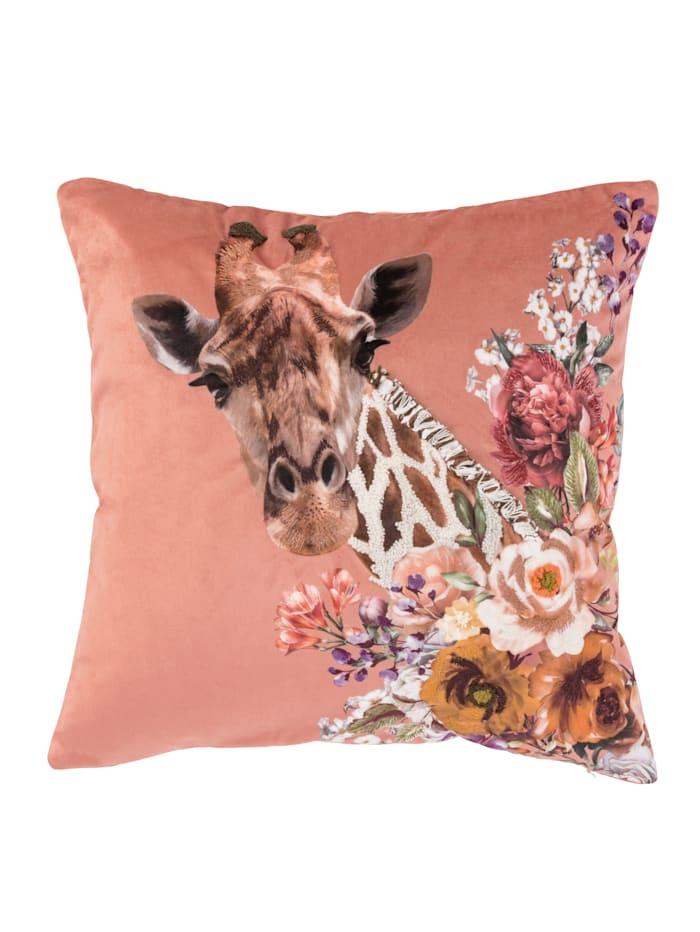 IMPRESSIONEN living Kissenhülle, multicolor, Giraffe
