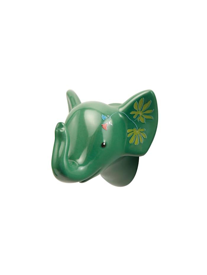 """Goebel Goebel Wandhaken Elephant - """"Jungle"""", dunkelgrün"""