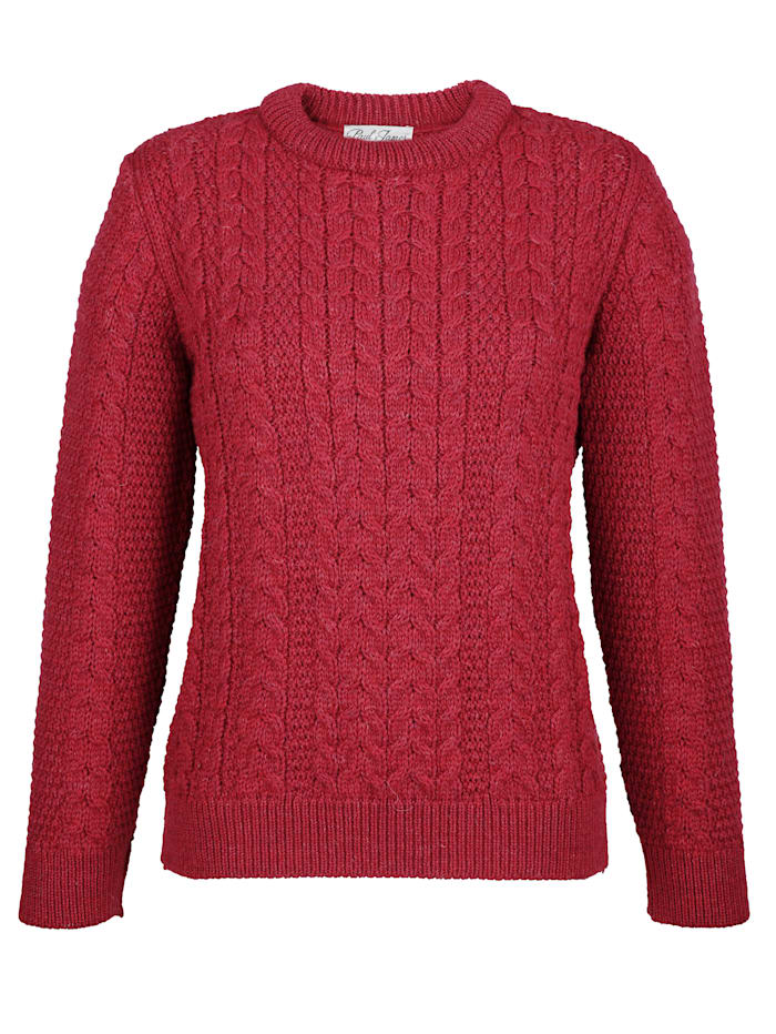 Pull-over en pure laine vierge