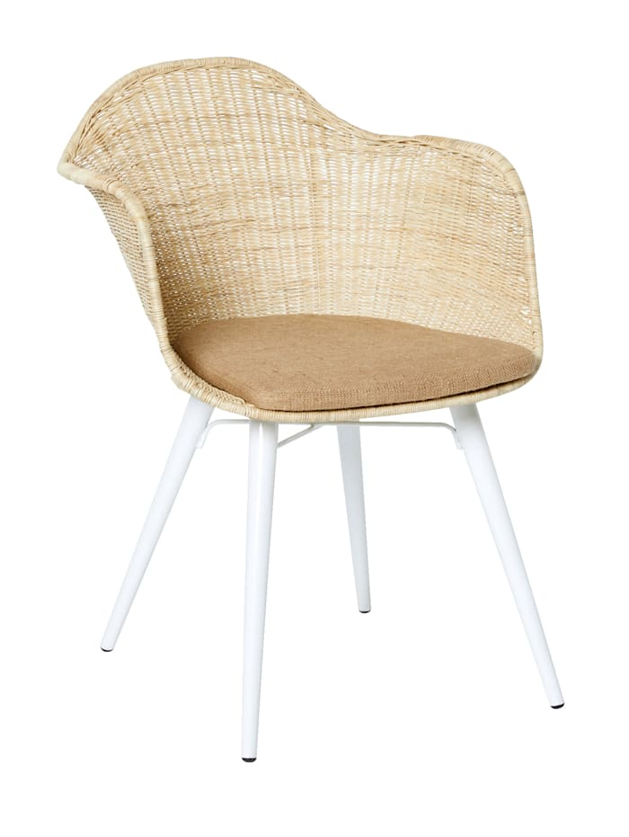 IMPRESSIONEN living Stuhl, natur/weiß