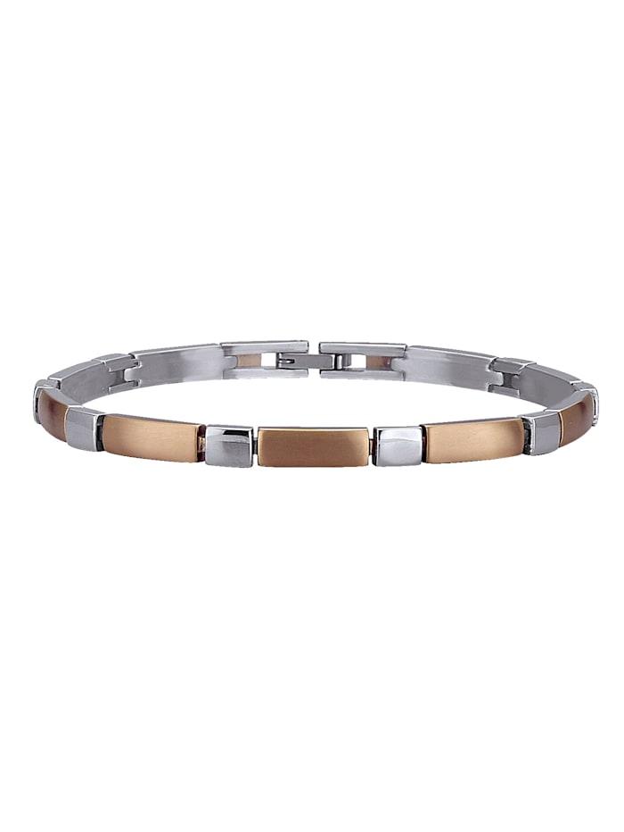 Armband aus Titan, Rosé