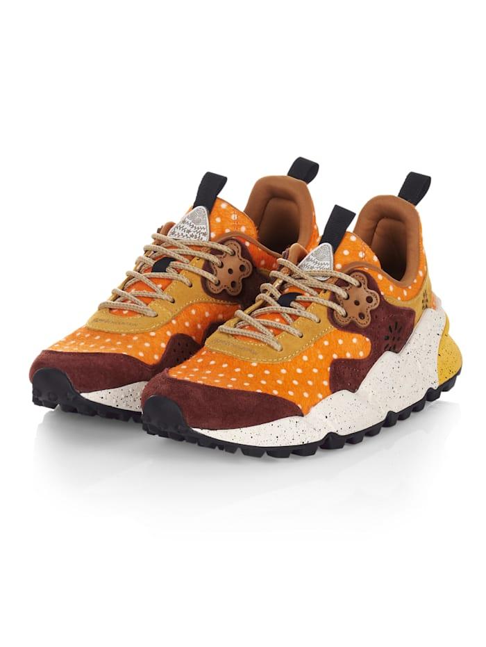 Flower Mountain Sneaker, Orange