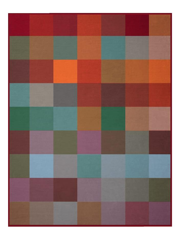 biederlack Wohndecke 'Warm Shades', Multicolor