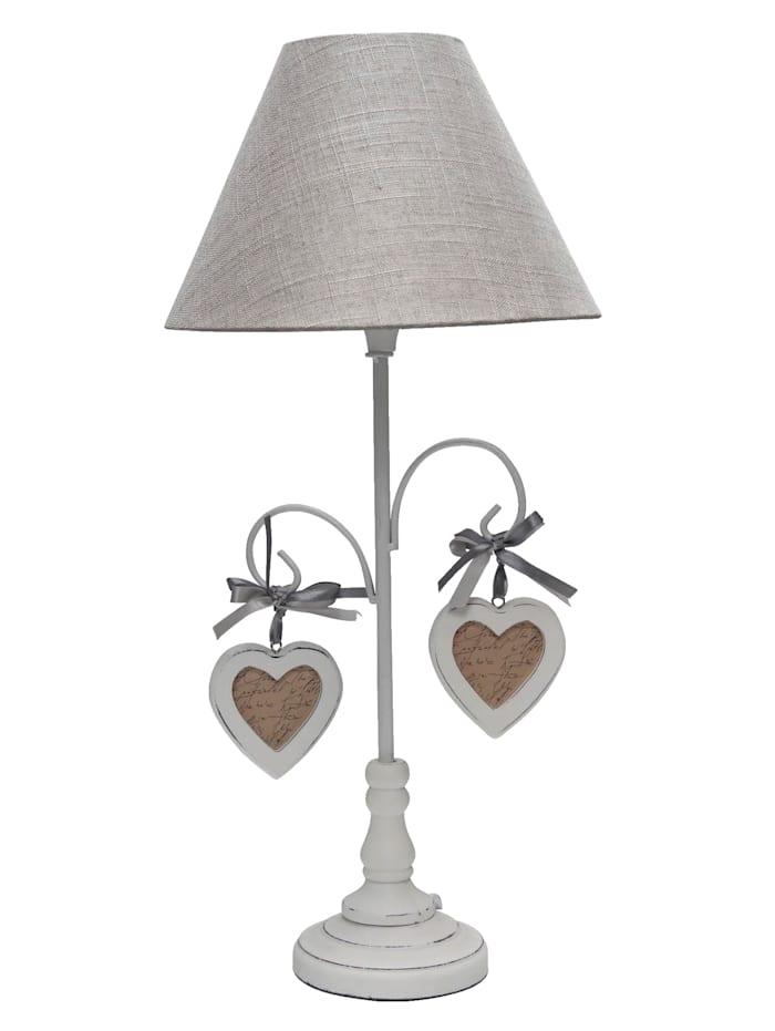 Lampe de table Matilda, Blanc