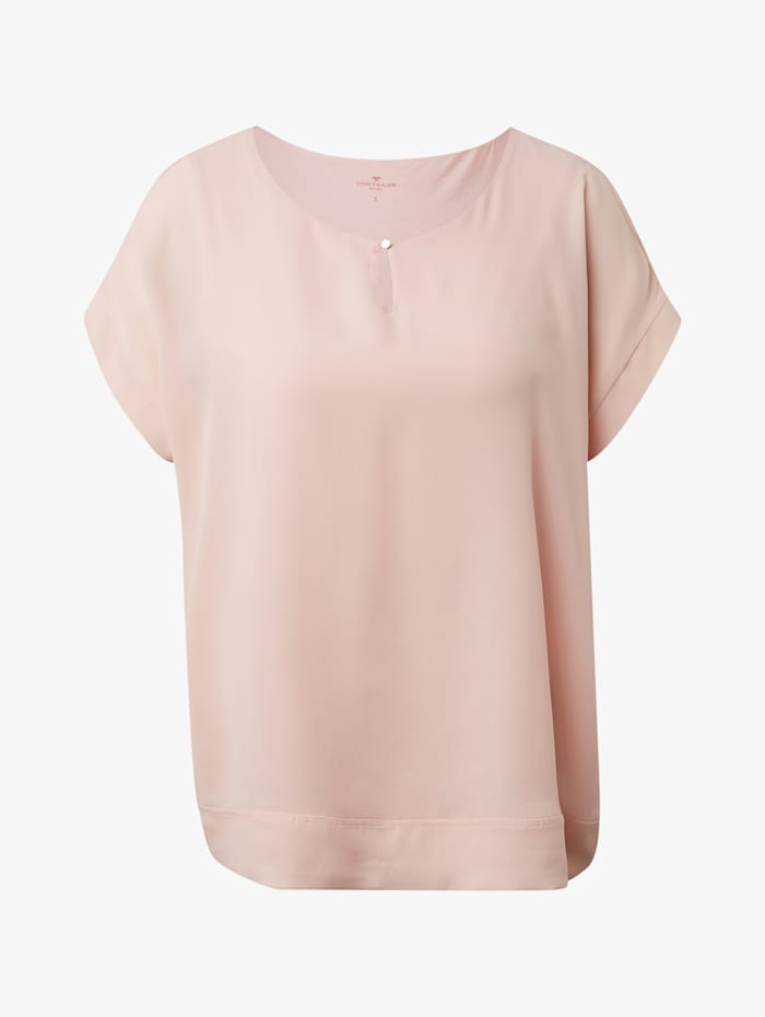Tom Tailor Chiffon T-Shirt, Summer Lotus