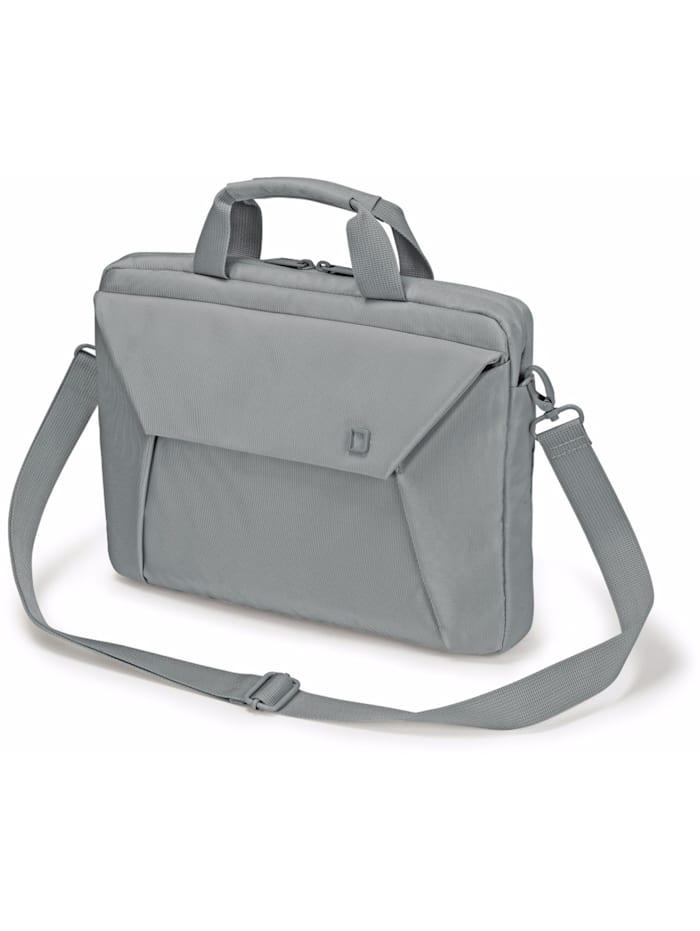 Dicota Notebooktasche Slim Case EDGE, Grau