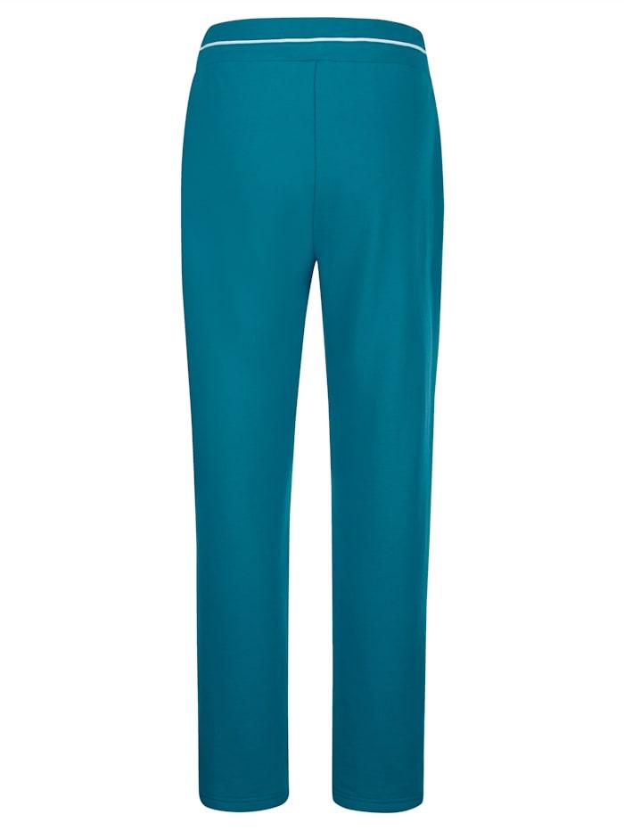 Sportovní kalhoty, 2kusy s dekorativním kontrastním lemováním