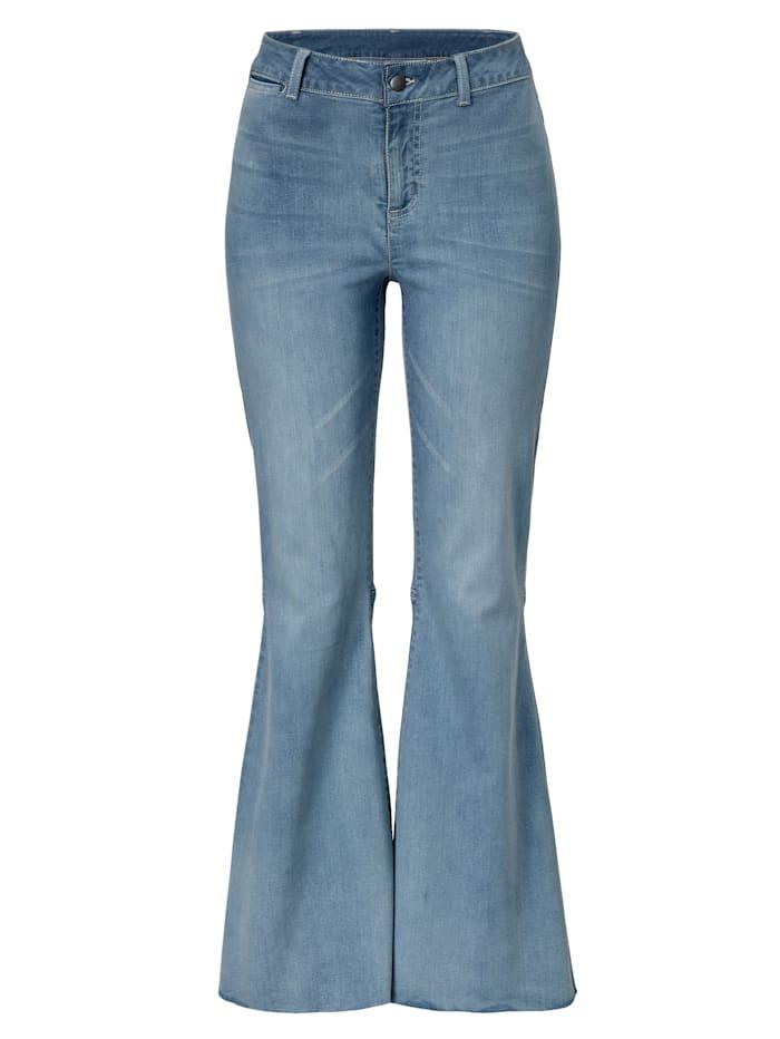 ROCKGEWITTER Jeans, Hellblau