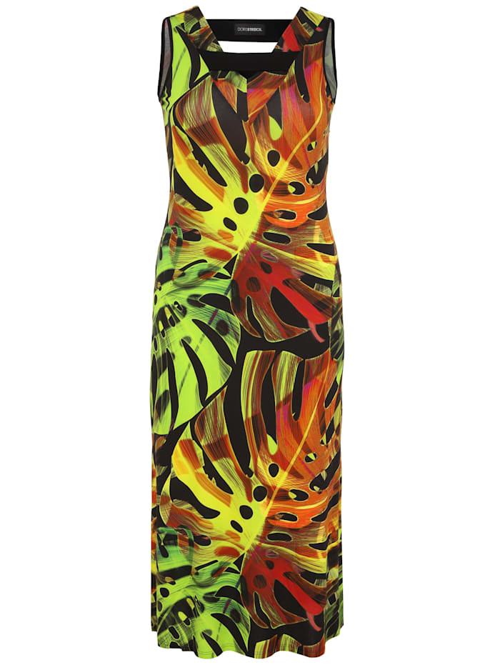Doris Streich Jerseykleid mit Print, multicolor