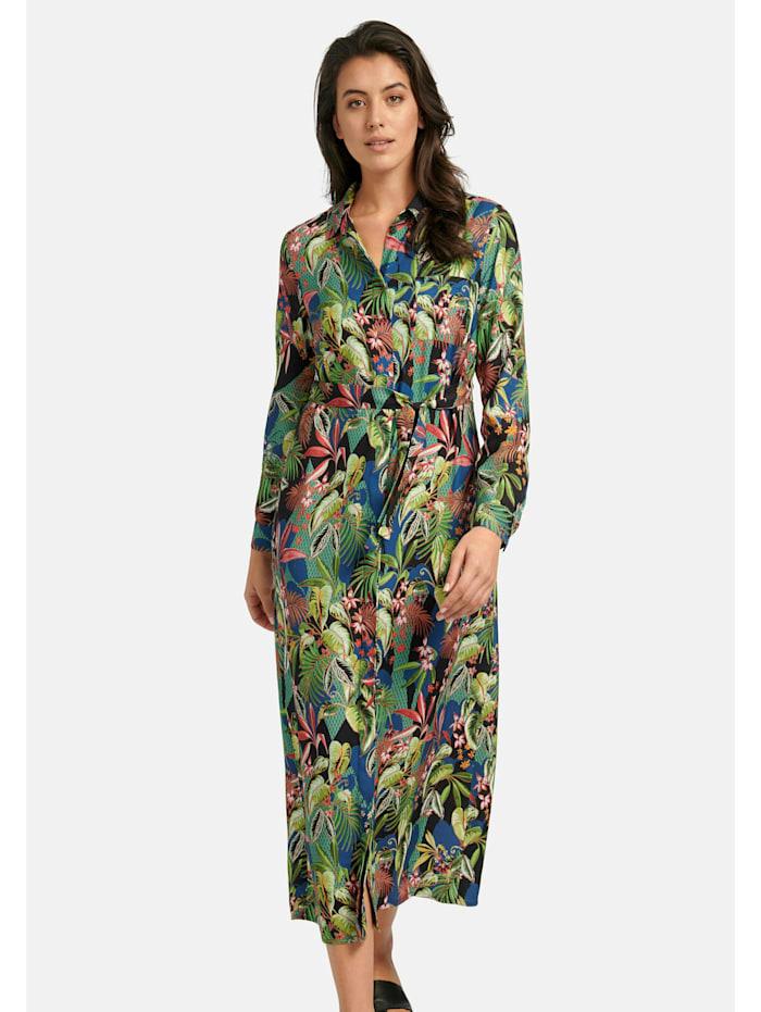 Abendkleid Kleid mit Bindegürtel