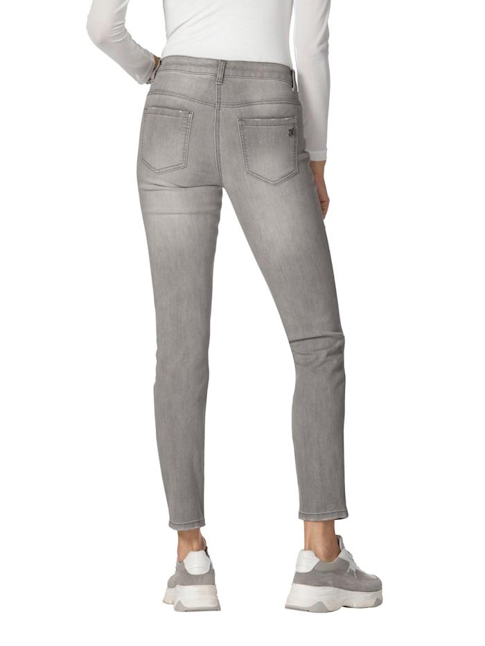 Jeans mit Strassstein-Dekoration