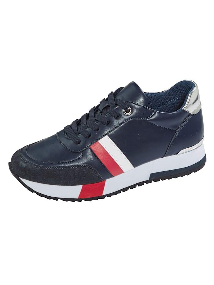 Liva Loop Sneaker im Maritimen-Look, Marineblau