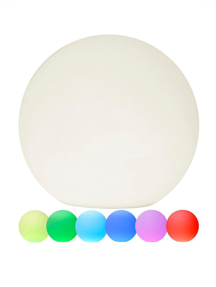 Star Trading LED-Kugel mit Farbwechsel, Weiß