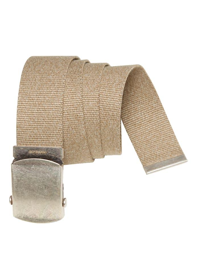 BABISTA Pásek možno individuálně zkrátit, Béžová