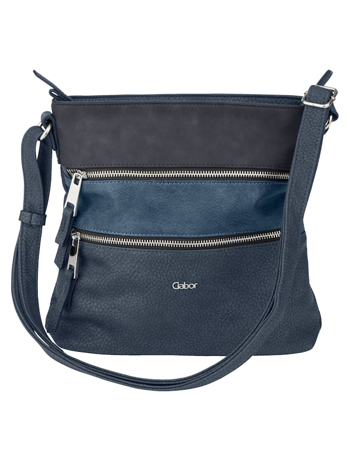 Gabor Shoulder Bag in a classic design, Navy Blue